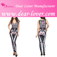 2015 Women Hot Sexy Halloween spandex catsuit