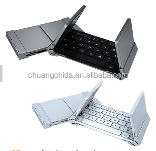 Notebook Flodable Bluetooth wireless Keyboard very convenient