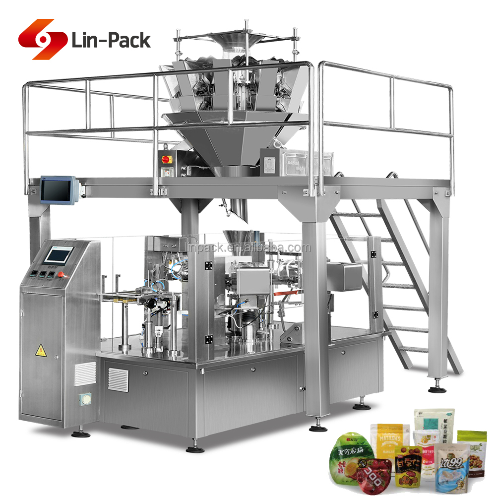 Multi Head Weigher Granule and Soild 500gm 1kg butter packaging machinery
