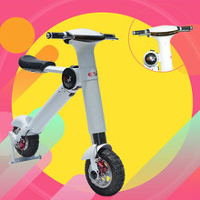 2017 new products for Christmas smart balance scooter electric scooter board compared to folding bike