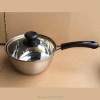 Cheap price Stainless Steel Sauce Pan With Bakelite Handle