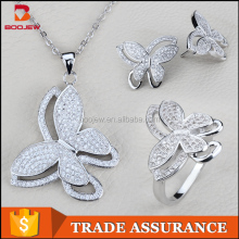 setting jewelry for ladies graceful 925 sterling silver exotic wholesale jewelry