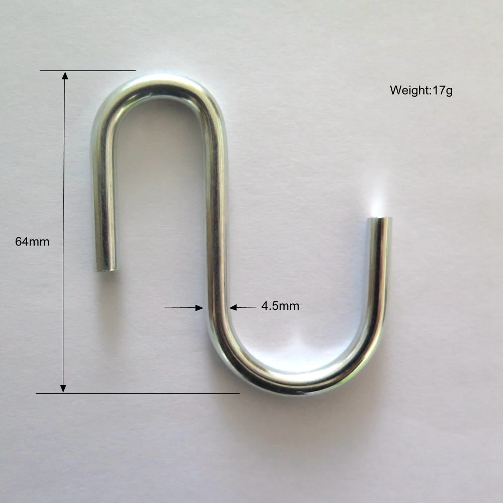 S Shaped Hooks S Hanging Hooks Hangers Kitchen, Bedroom and Office