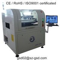 inline SMT solder paste printing machine for electronics factory PCB assembly