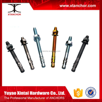 Zinc Plated Hardware Fastener Wedge Anchor