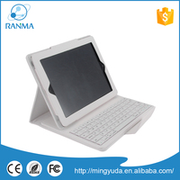 Universal tablet pu leather bluetooth keyboard case for ipad 2 / 3 / 4