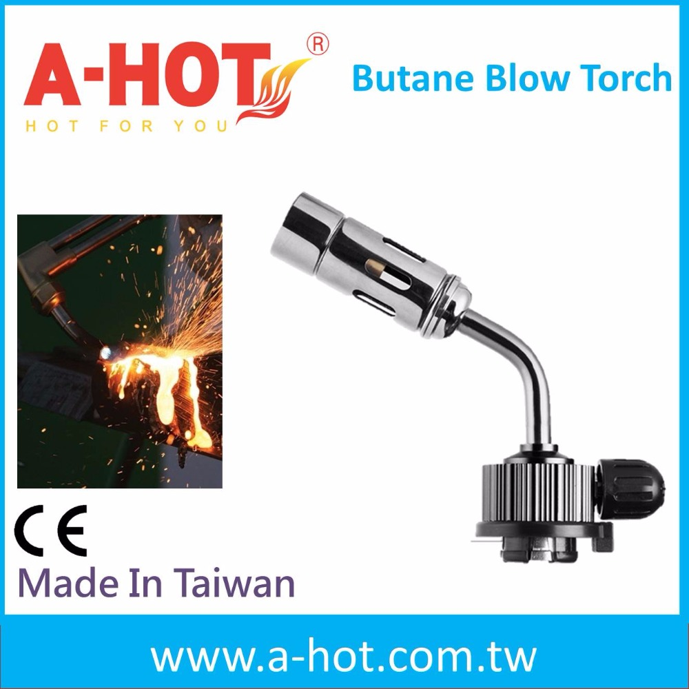 Outdoor good refillable light brazing and plumbing torch