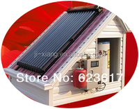 Solar water heating install in House/ Use both title and flaSolar water heating install in House/ Use both title and flat roof .