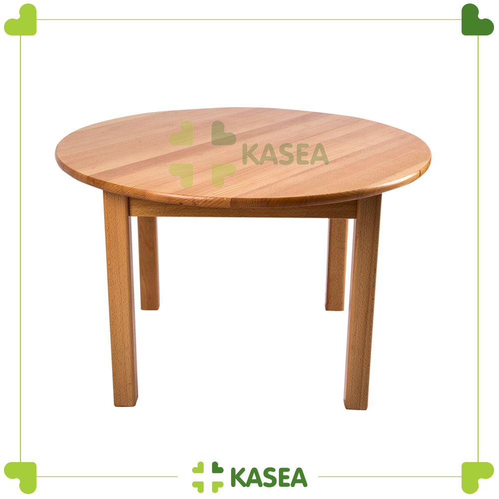 Beech wood Circel Chair of Montessori Furniture Materials (Diameter : 75 cm )