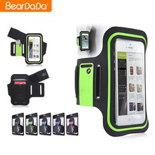 Universal fitness Waterproof sports running armband case for iphone 6 plus 5.5%