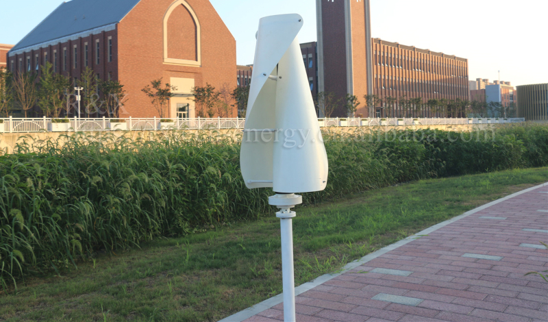 100W/300W/400W / 500W / 600W Spiral Type Vertical Axis Wind Turbine Generator 12V / 24V / 48V Optional