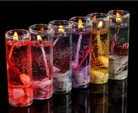 Wedding Celebration Banquet Furniture Furnishing Articles Romantic Sea Crystal Jelly Candles on His Birthday