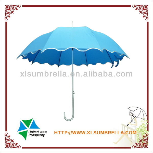 "23"" aluminum beauty lace parasols umbrella"