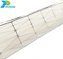 6mm 8mm 10mm Colored Polycarbonate Twin-wall Hollow Sheet