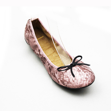 2018 Brand Foldable New Fashion Design Lady Ballerina Shoes