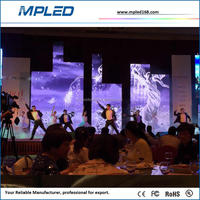 newest xxx p4 led video wall screen on sale