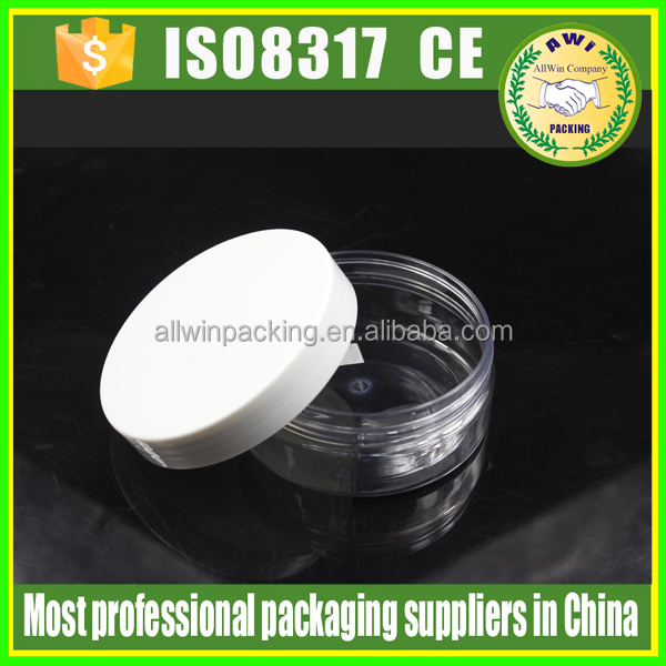 wholesale plastic PET jars plastic PET apothecary jars