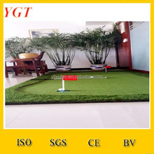 1.5m*3.5m Portable Mini Golf Putting Green with Hole Cup and Red Flag / Putting Green