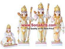 Ram Darbar Statue for mandir / Ram Darbar Statue from Spotless White Marble