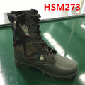 hot selling jungle camouflage design military mission army boots with green leather