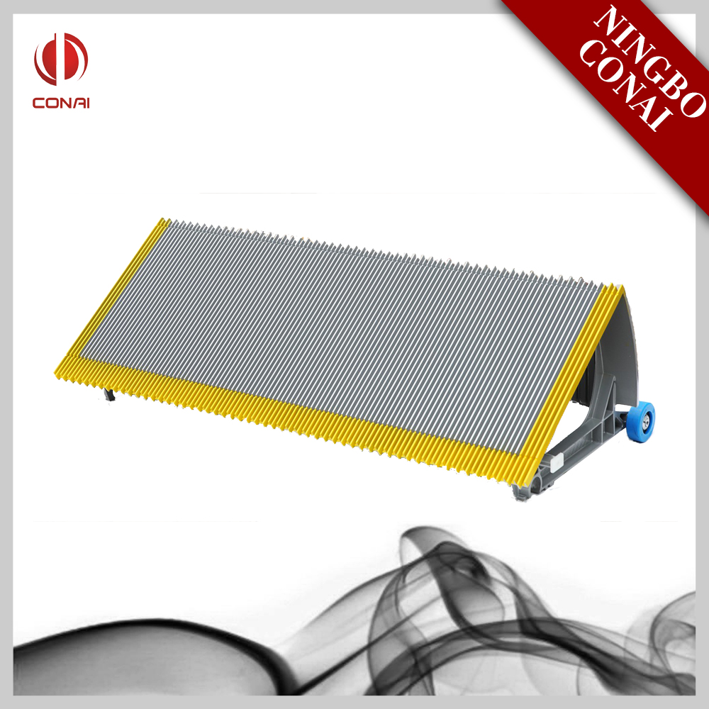 Elite Gray Aluminum Step for SJEC Escalator Spare Parts