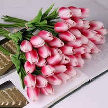 Multi Colors Artificial Silk Flower Tulip With Cheap Price