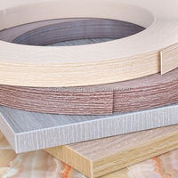 laminate pvc edge banding edge band for office furniture/table/window trim/brim
