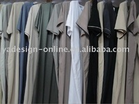 CM157 elegant high quality men's islamic abaya 2011