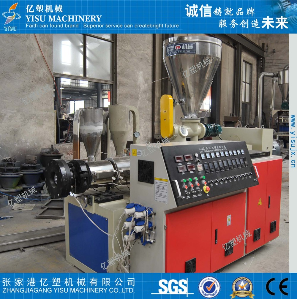 WPC wood plastic profile production machine/plate making machine/extrusion line