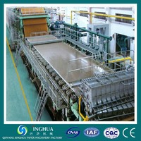 High Efficiencty 2800/300M 70-90TPD Kraft Paper Making Machine Price