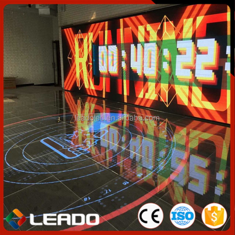 China factory price promotional video portable led dance floor