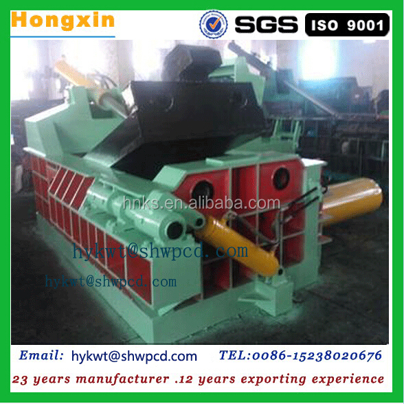 automatic wood shaving baling machine