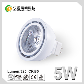 GU10 LED Spotlight Dimmable MR16 COB 5W The Best Type Of Saving Lamp