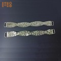 High Quality embellishment 16cm swimwear metal crystal back bikini clasp rhinestone connector