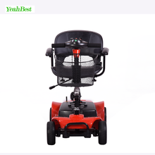 Aluminum Alloy Lightweight Foldable Four Wheels Electric Mobility Scooters for The Elderly and Handicapped People