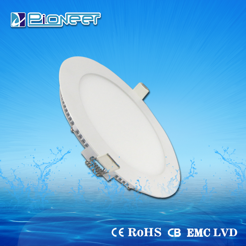 Panel Lights Item Type and Aluminum Lamp Body Material flush mounted 6w 12w 18w led ceiling light panel
