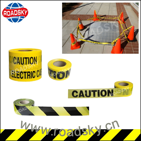 Crime Scene High Visible Yellow Pe Caution Tape