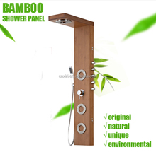 (P5201) Natural Bamboo Shower Panel Bathroom Wooden Shower Panel
