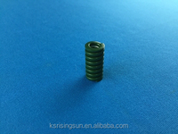custom selectively Coiling metal PTFE coated compression helical spring