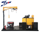Mounted road crack sealing repair machine construction
