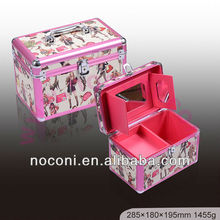 best selling aluminum cosmetic display case hard case cosmetic case