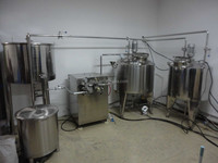 Small pasteurized milk line
