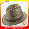 Mixed color straw hat jazz straw hat of men