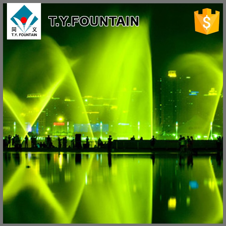 Small Decorative Dancing Fountain Floating pool Fountain
