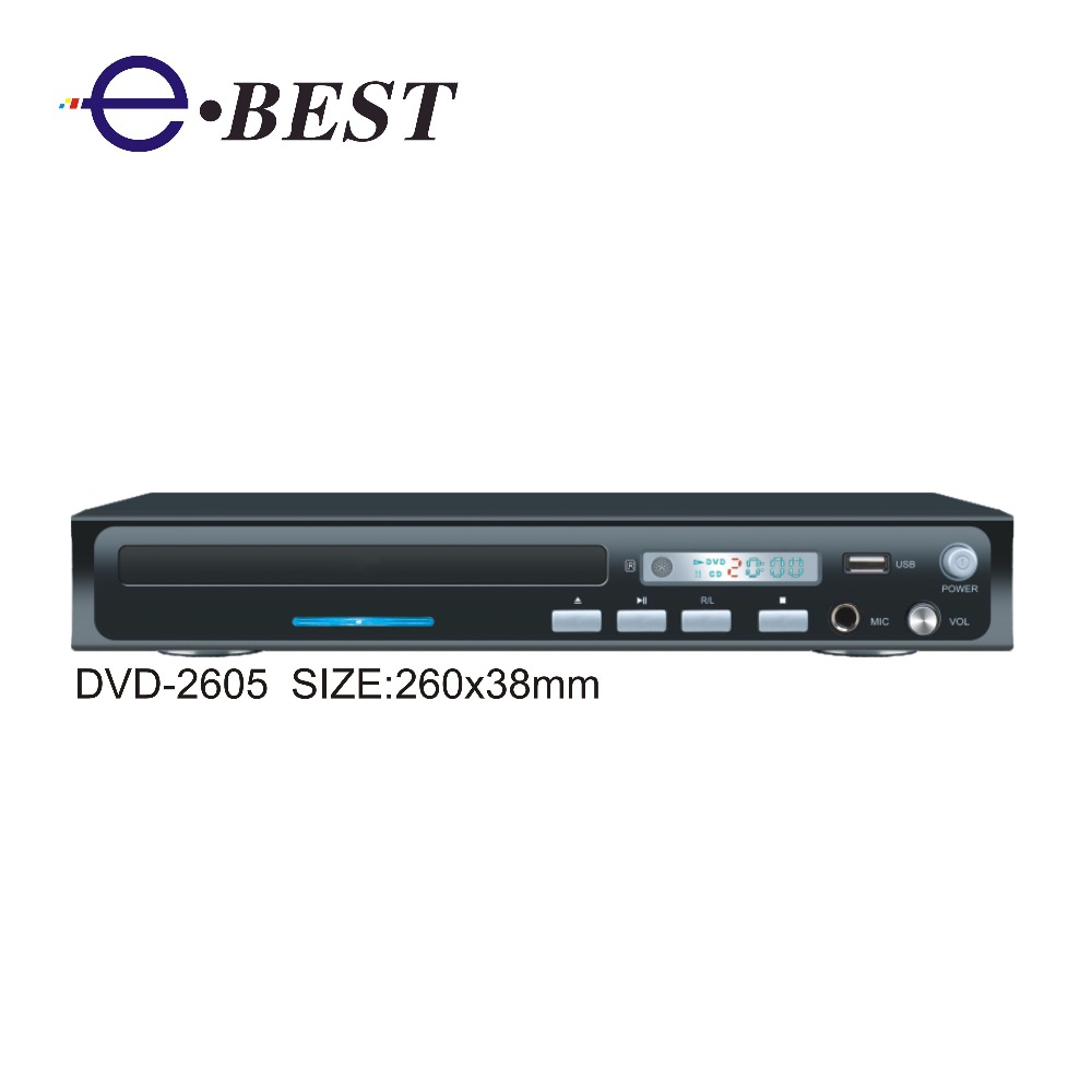 Home 2.1ch USB SD KARAOKE HOME DVD player