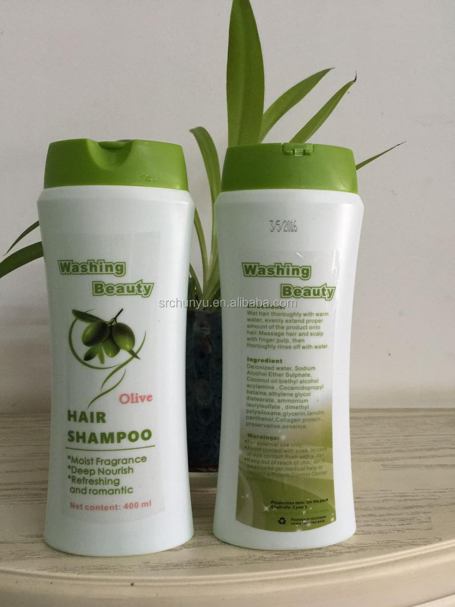 Free sample 2016 new formula herbal hair growth shampoo with private lable