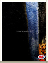 100%polyester super soft high gloss various colors fur for garments,scarf,blanket