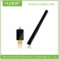 300Mbps High Gain Wireless USB Adapter, WiFi USB Network Card with 6dBi Antenna