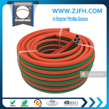 6mm 8mm 10mm pvc and rubber Oxygen Acetylene twin welding hose