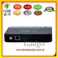 Quad Core Android Smart TV Box 4K Player , supports goolge TV market,Miracast and skype wecbam chat
